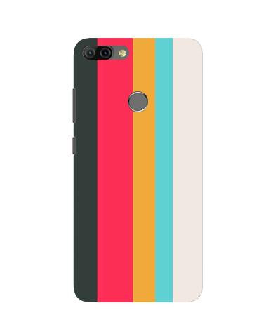 Color Pattern Mobile Back Case for Infinix Hot 6 Pro (Design - 369)