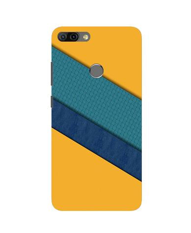 Diagonal Pattern Mobile Back Case for Infinix Hot 6 Pro (Design - 370)