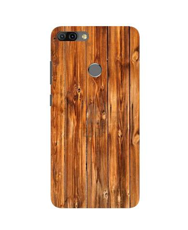 Wooden Texture Mobile Back Case for Infinix Hot 6 Pro (Design - 376)