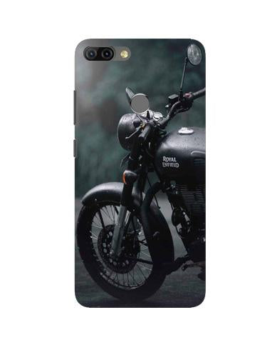 Royal Enfield Mobile Back Case for Infinix Hot 6 Pro (Design - 380)