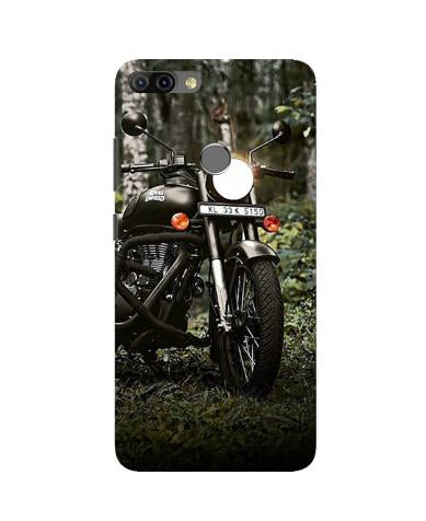 Royal Enfield Mobile Back Case for Infinix Hot 6 Pro (Design - 384)