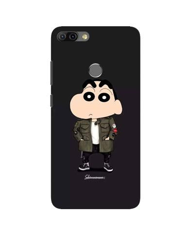 Shin Chan Mobile Back Case for Infinix Hot 6 Pro (Design - 391)
