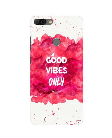Good Vibes Only Mobile Back Case for Infinix Hot 6 Pro (Design - 393)
