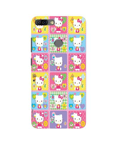 Kitty Mobile Back Case for Infinix Hot 6 Pro (Design - 400)