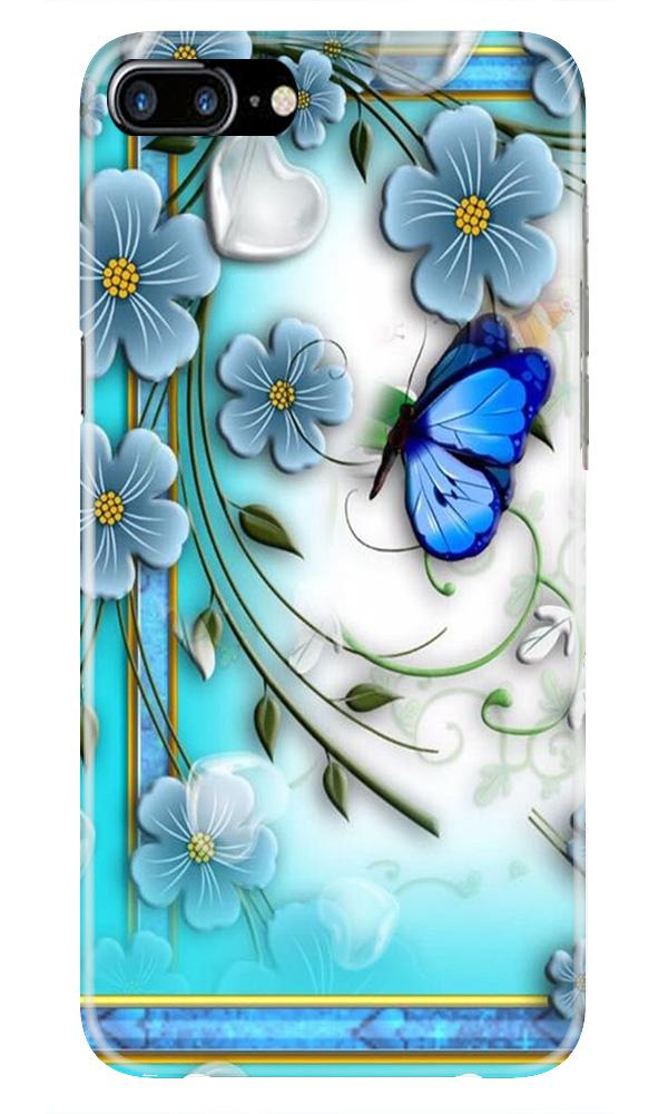 Blue Butterfly Case for iPhone 7 Plus