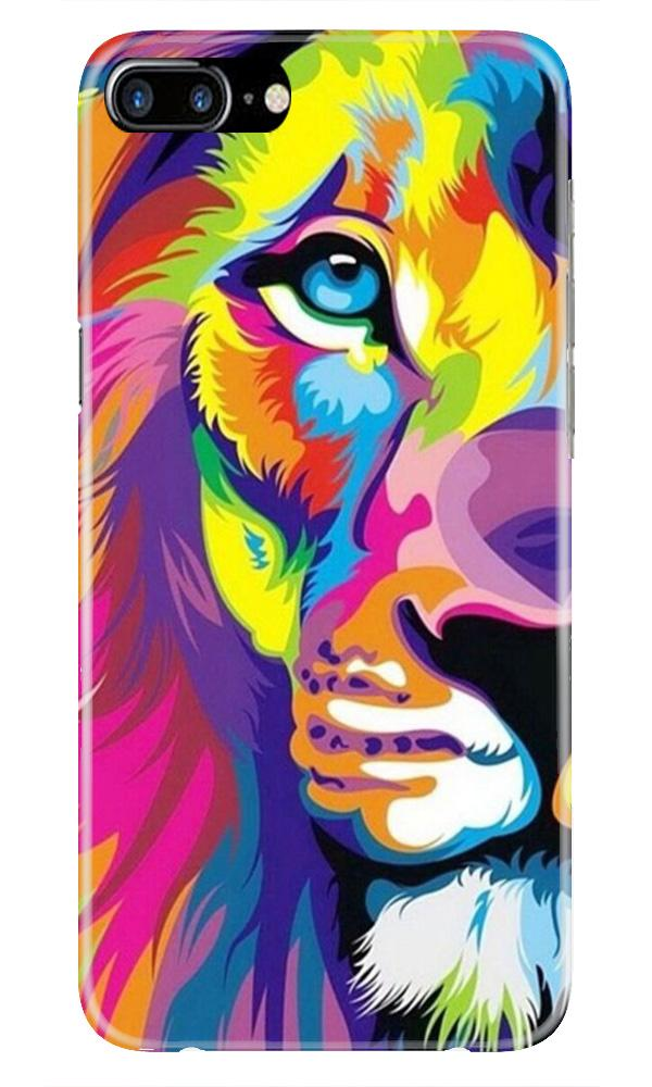 Colorful Lion Case for iPhone 7 Plus  (Design - 110)