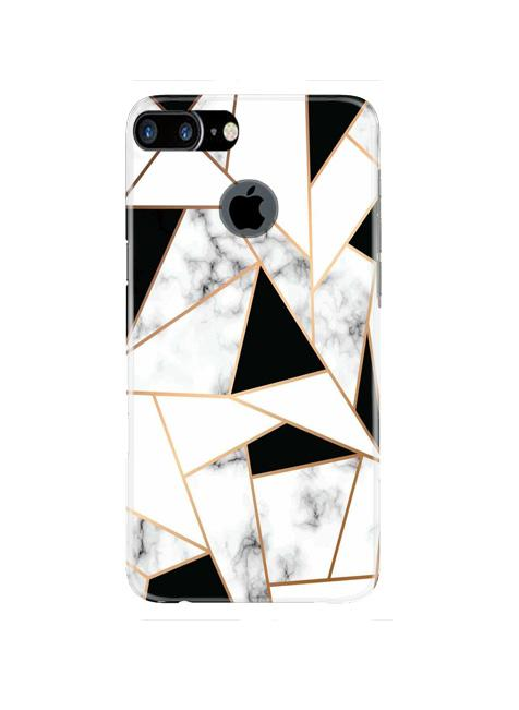Marble Texture Mobile Back Case for iPhone 7 Plus Logo Cut  (Design - 322)