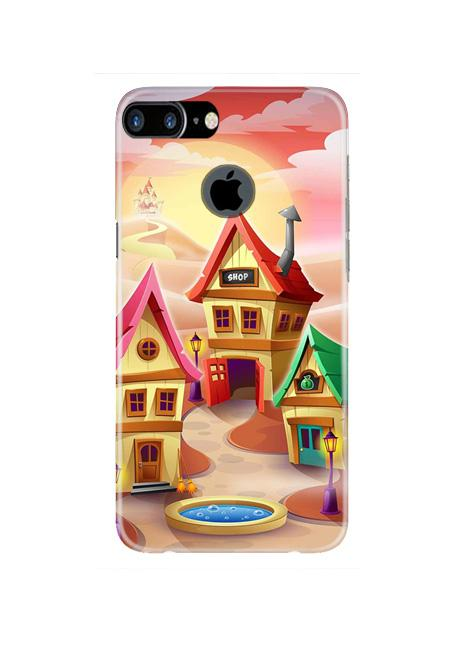 Sweet Home Mobile Back Case for iPhone 7 Plus Logo Cut  (Design - 338)