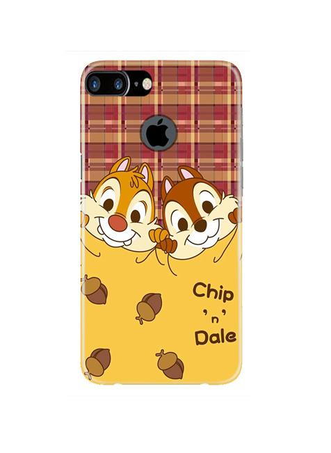 Chip n Dale Mobile Back Case for iPhone 7 Plus Logo Cut  (Design - 342)