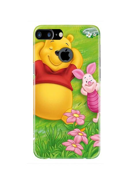 Winnie The Pooh Mobile Back Case for iPhone 7 Plus Logo Cut  (Design - 348)