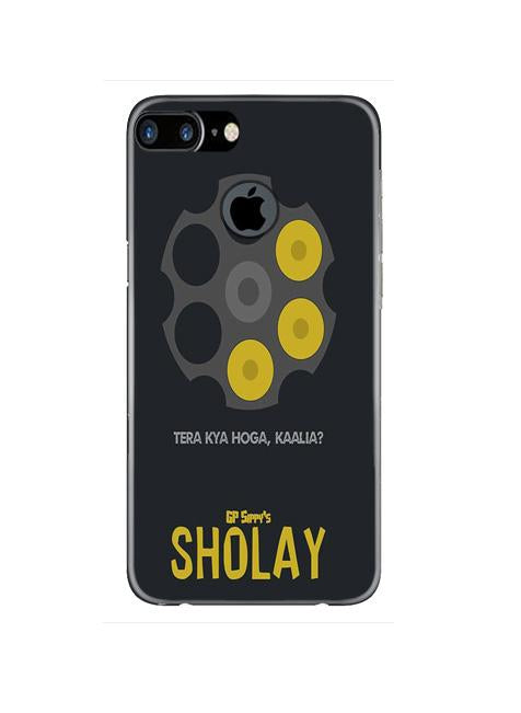 Sholay Mobile Back Case for iPhone 7 Plus Logo Cut  (Design - 356)