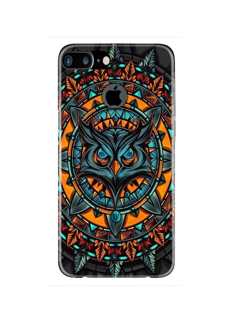 Owl Mobile Back Case for iPhone 7 Plus Logo Cut  (Design - 360)