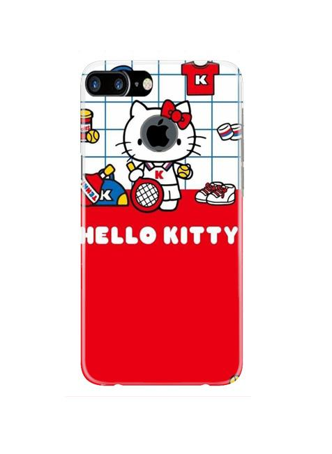 Hello Kitty Mobile Back Case for iPhone 7 Plus Logo Cut  (Design - 363)