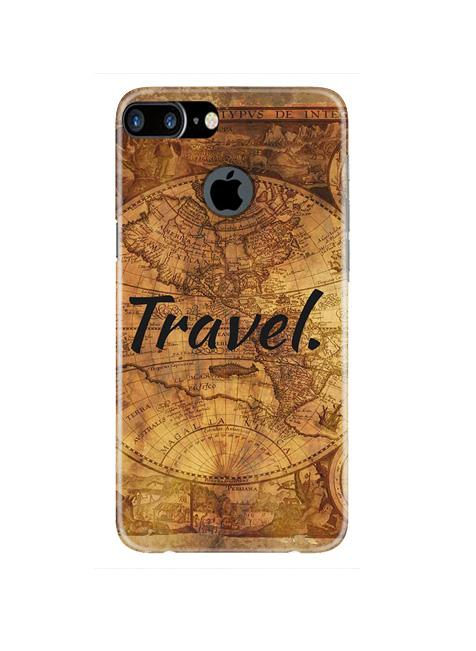 Travel Mobile Back Case for iPhone 7 Plus Logo Cut  (Design - 375)