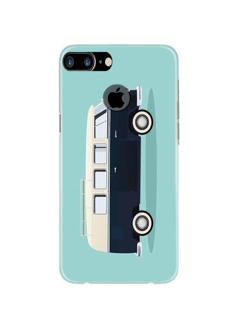 Travel Bus Mobile Back Case for iPhone 7 Plus Logo Cut  (Design - 379)