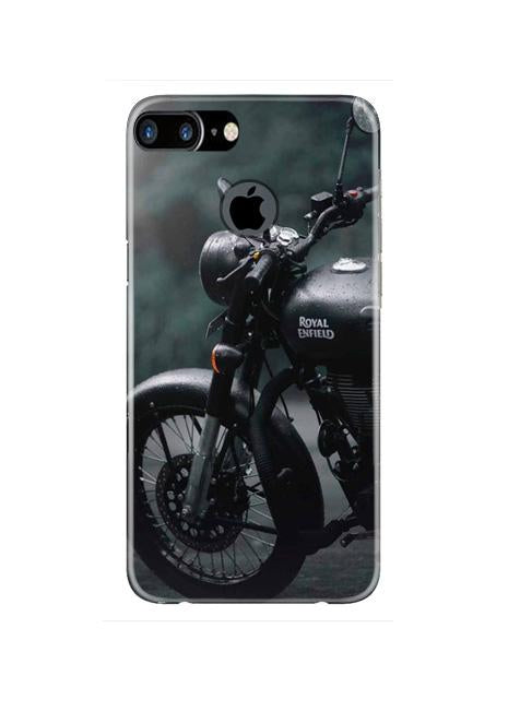 Royal Enfield Mobile Back Case for iPhone 7 Plus Logo Cut  (Design - 380)