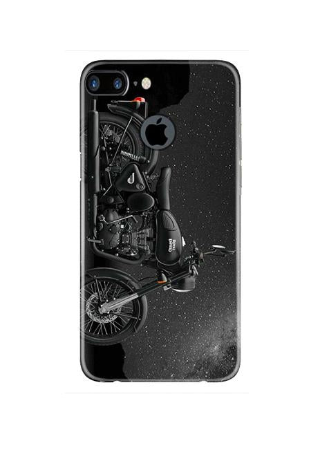 Royal Enfield Mobile Back Case for iPhone 7 Plus Logo Cut  (Design - 381)