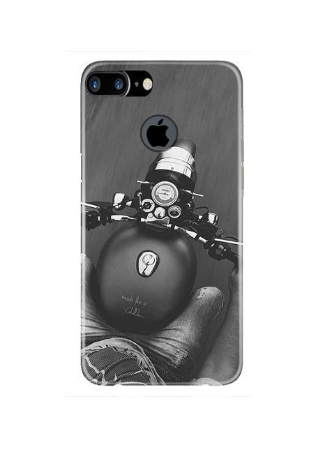 Royal Enfield Mobile Back Case for iPhone 7 Plus Logo Cut  (Design - 382)
