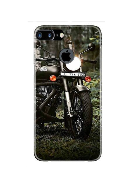 Royal Enfield Mobile Back Case for iPhone 7 Plus Logo Cut  (Design - 384)
