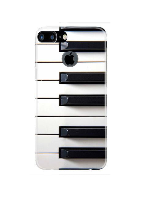 Piano Mobile Back Case for iPhone 7 Plus Logo Cut  (Design - 387)