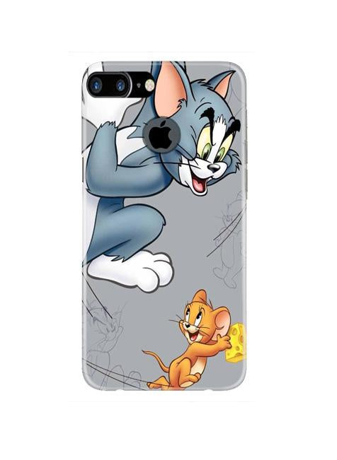 Tom n Jerry Mobile Back Case for iPhone 7 Plus Logo Cut  (Design - 399)