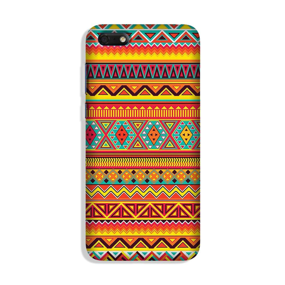 Zigzag line pattern Case for Honor 7S
