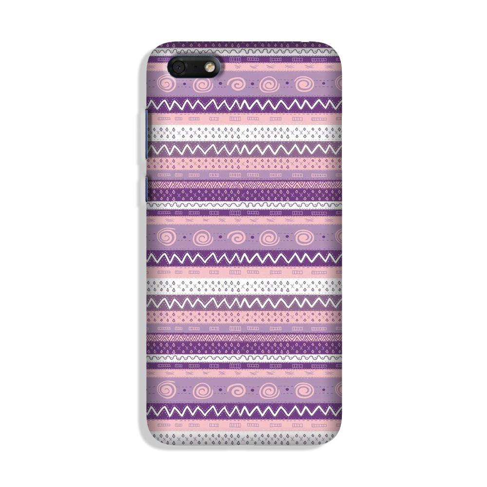 Zigzag line pattern3 Case for Honor 7S