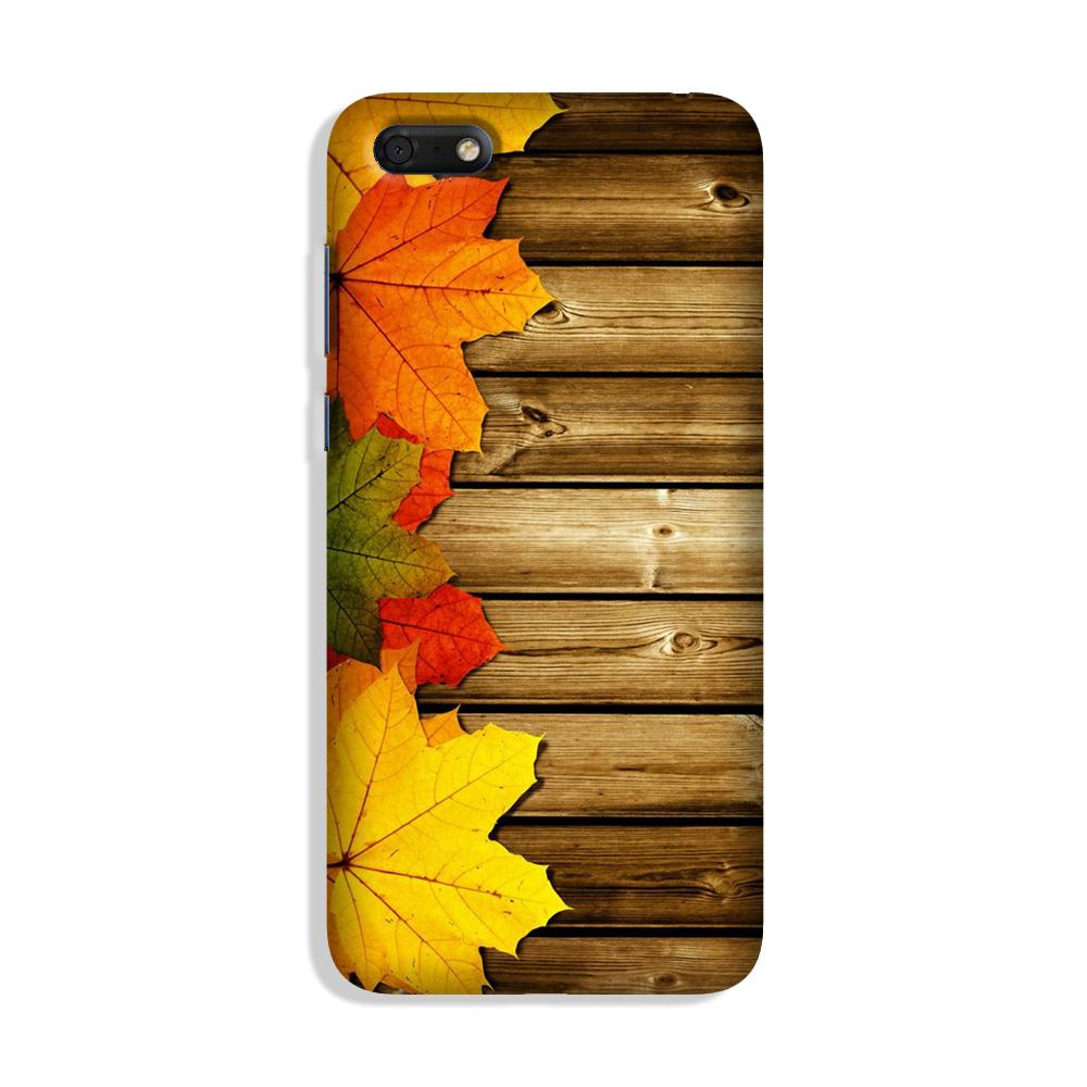 Wooden look Case for Honor 7S