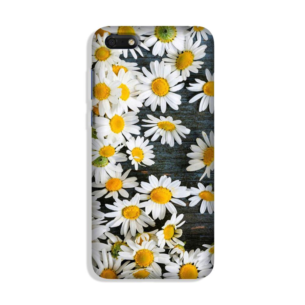 White flowers Case for Honor 7S
