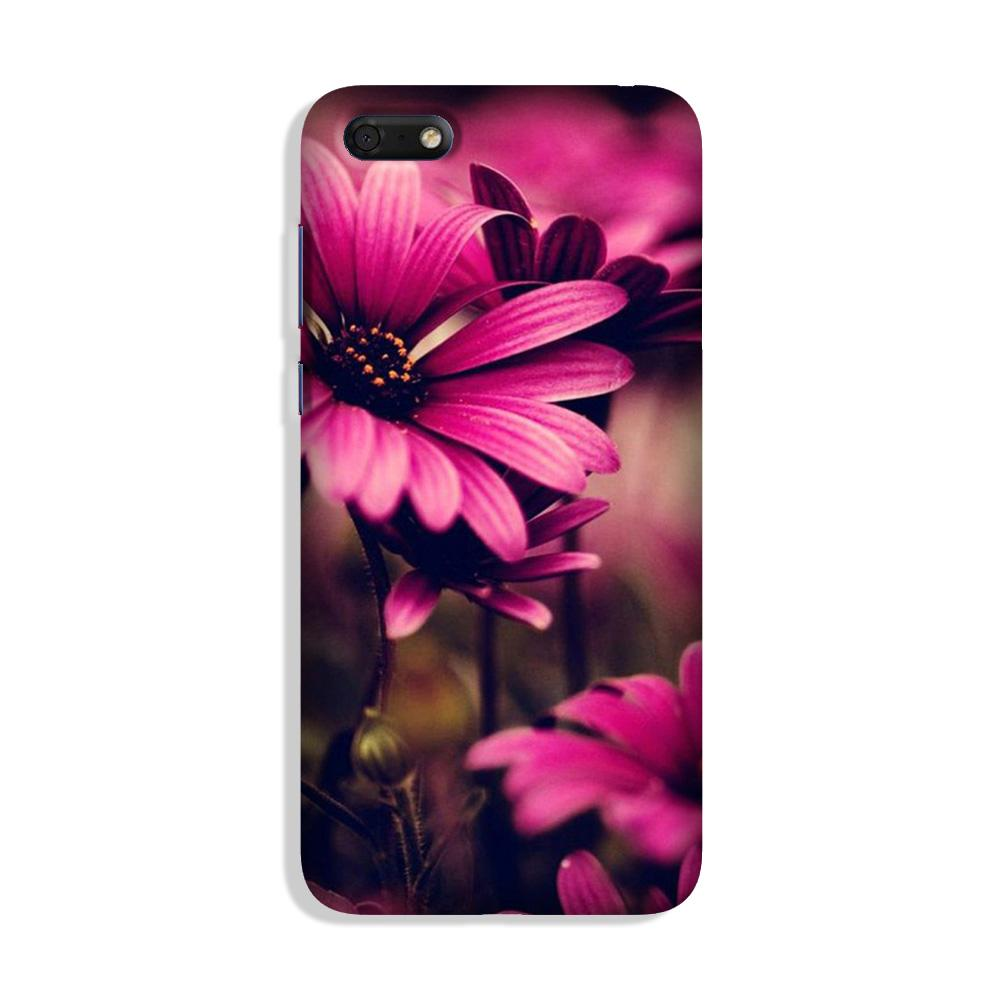 Purple Daisy Case for Honor 7S