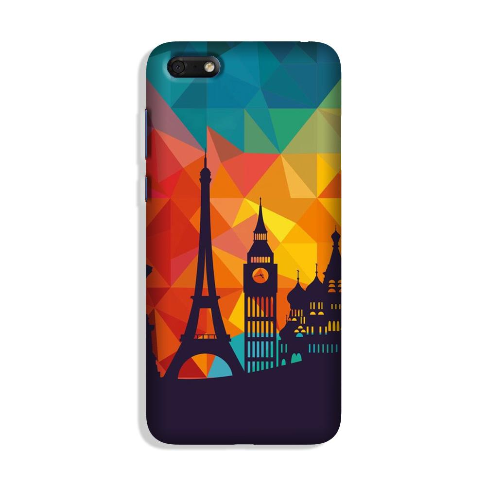 Eiffel Tower Case for Honor 7S