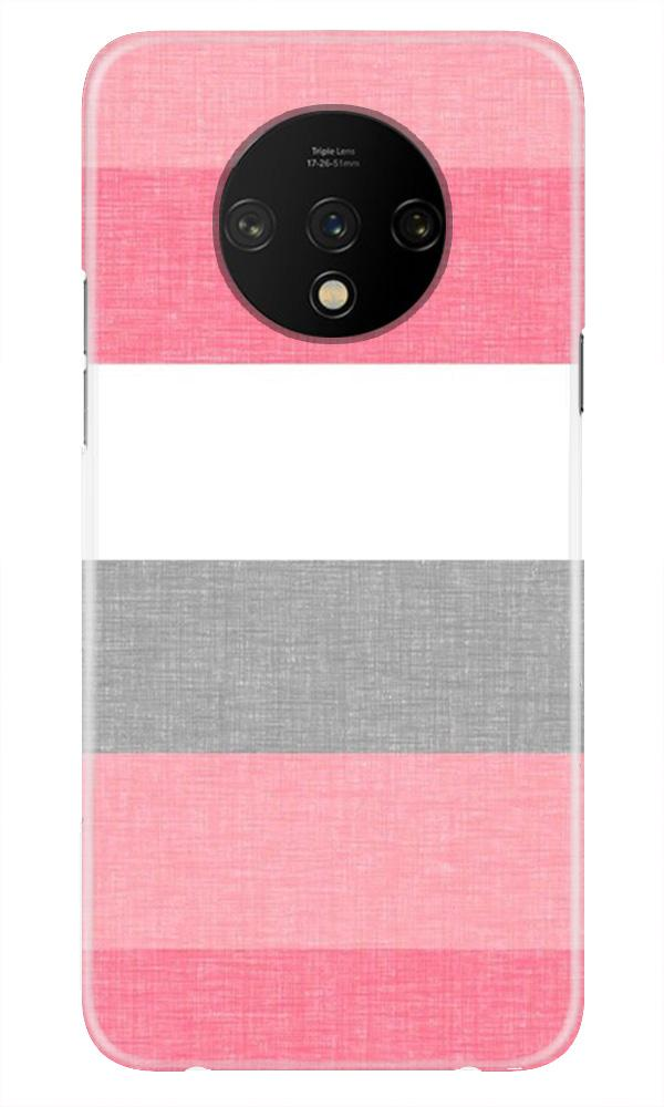 Pink white pattern Case for OnePlus 7T