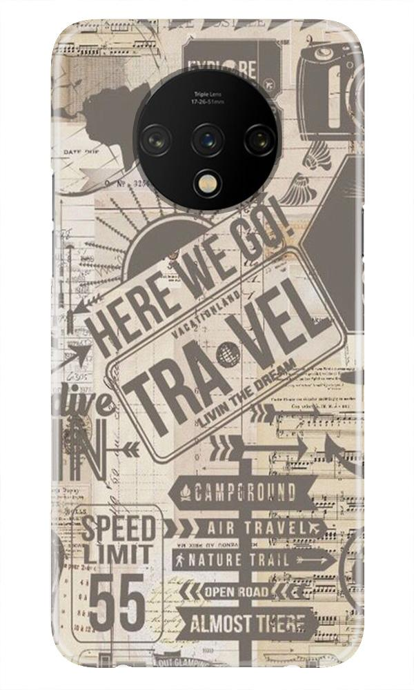 Travel Case for OnePlus 7T  (Design - 104)