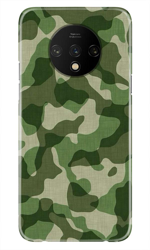 Army Camouflage Case for OnePlus 7T  (Design - 106)