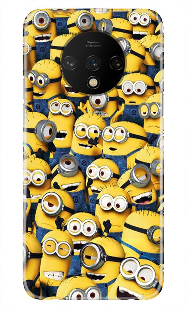 Minions Case for OnePlus 7T  (Design - 126)