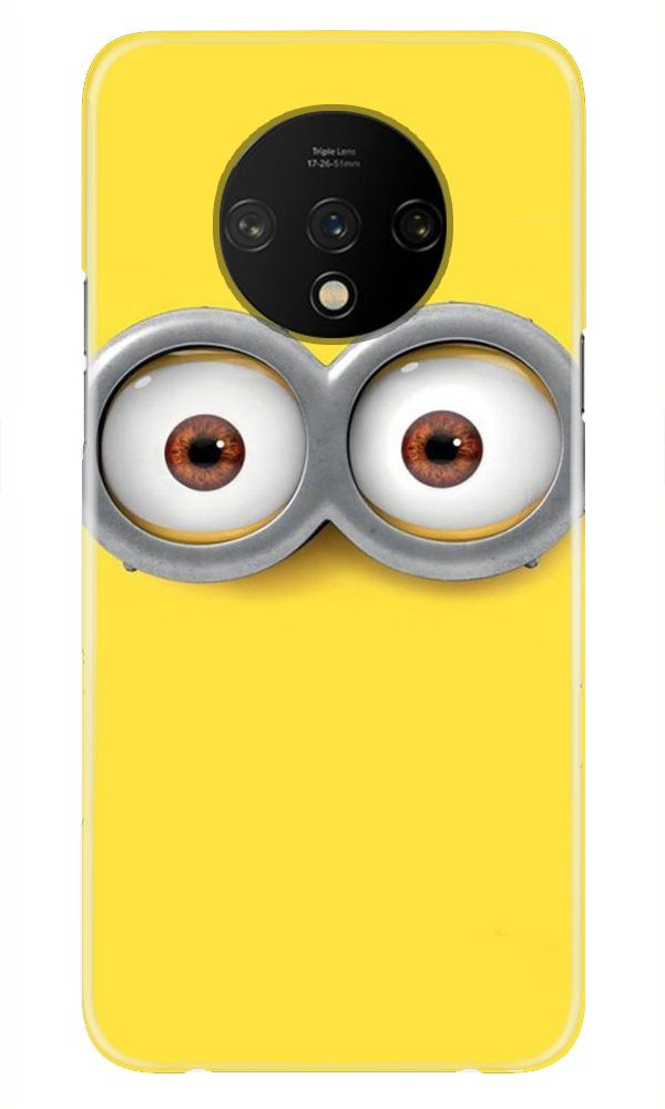 Minions Case for OnePlus 7T  (Design - 128)