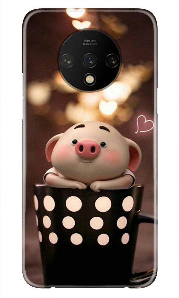 Cute Bunny Case for OnePlus 7T (Design No. 213)