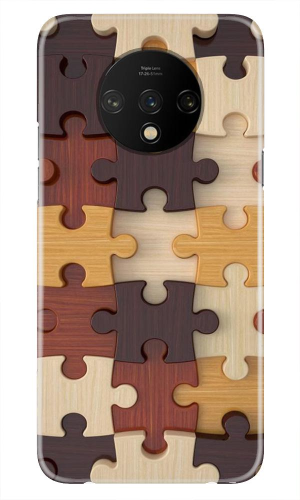 Puzzle Pattern Case for OnePlus 7T (Design No. 217)