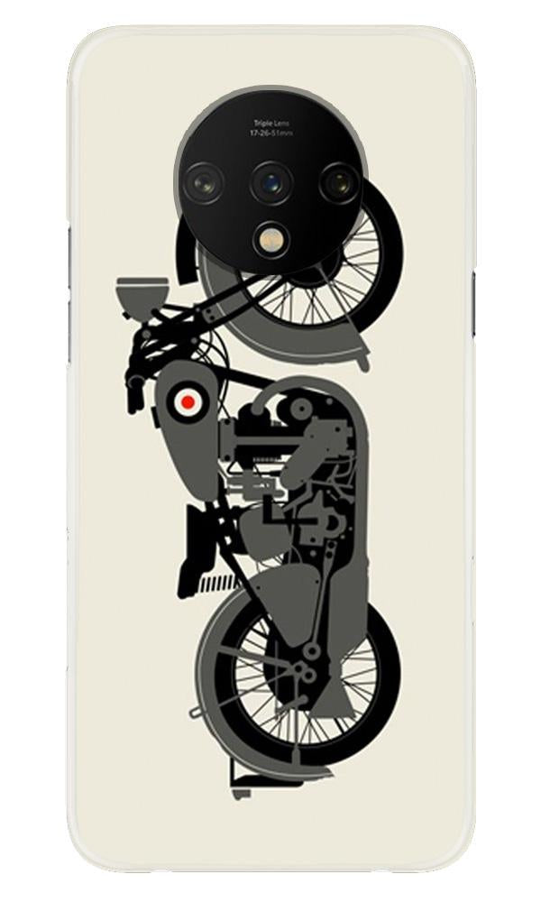 MotorCycle Case for OnePlus 7T (Design No. 259)
