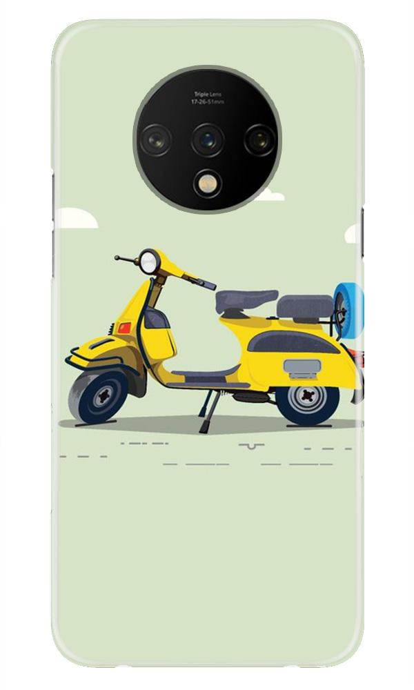Vintage Scooter Case for OnePlus 7T (Design No. 260)