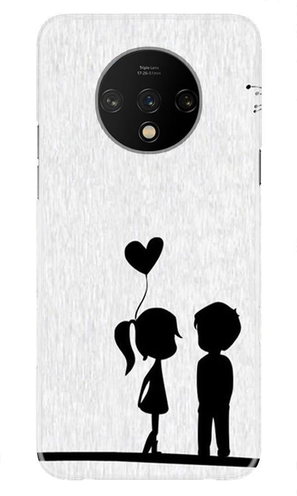 Cute Kid Couple Case for OnePlus 7T (Design No. 283)