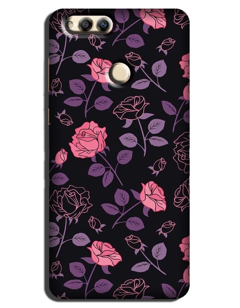 Rose Pattern Case for Honor 7X