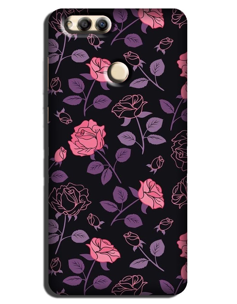 Rose Pattern Case for Mi A1