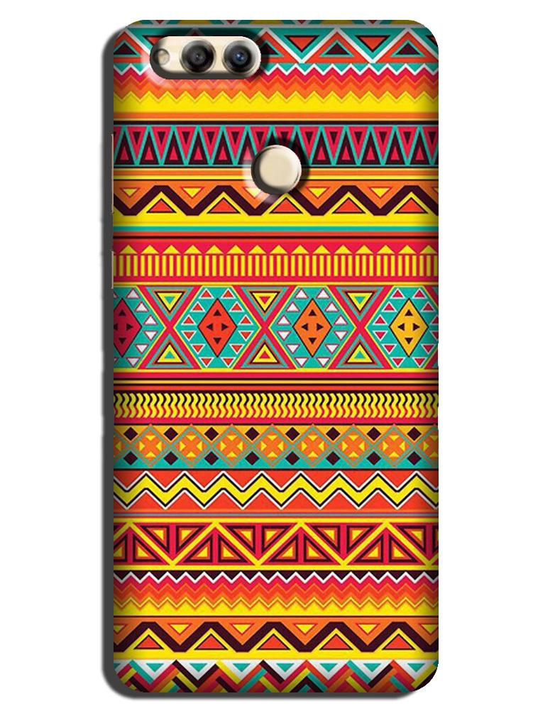 Zigzag line pattern Case for Honor 7X