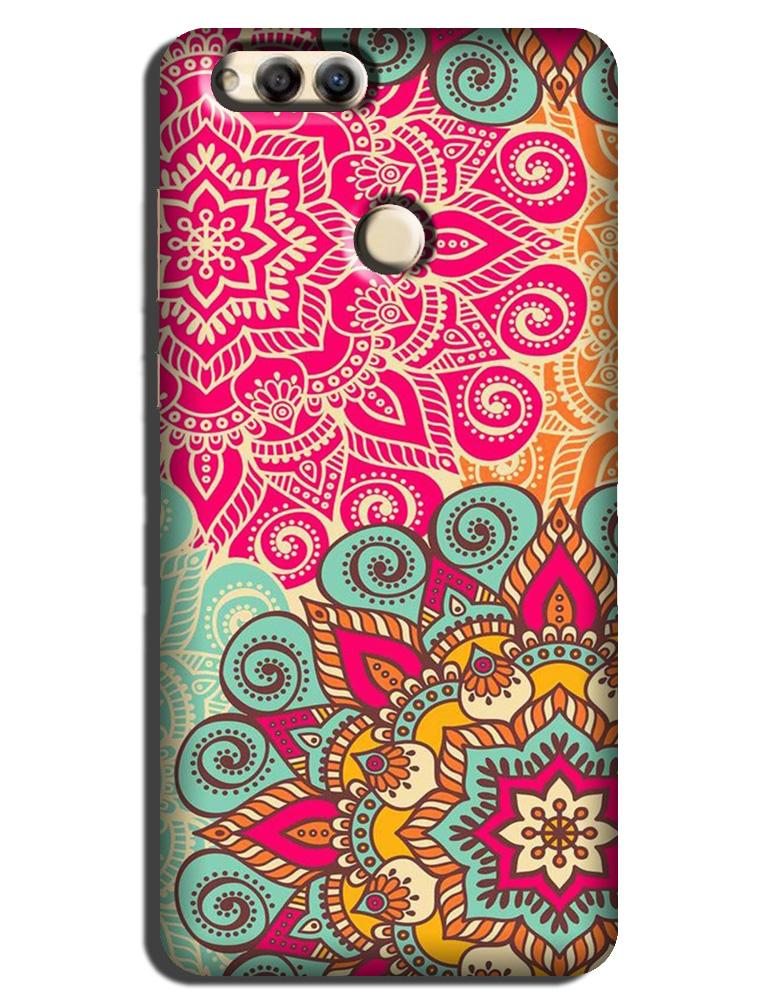 Rangoli art Case for Honor 7X