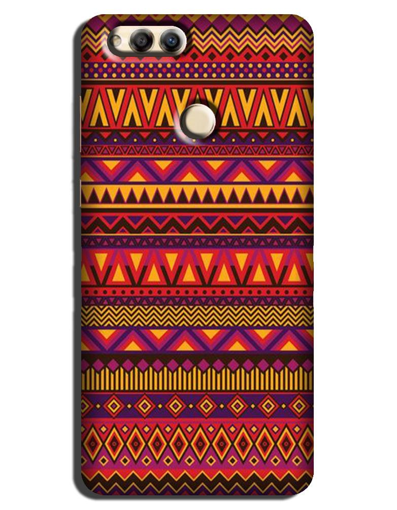 Zigzag line pattern2 Case for Honor 7X