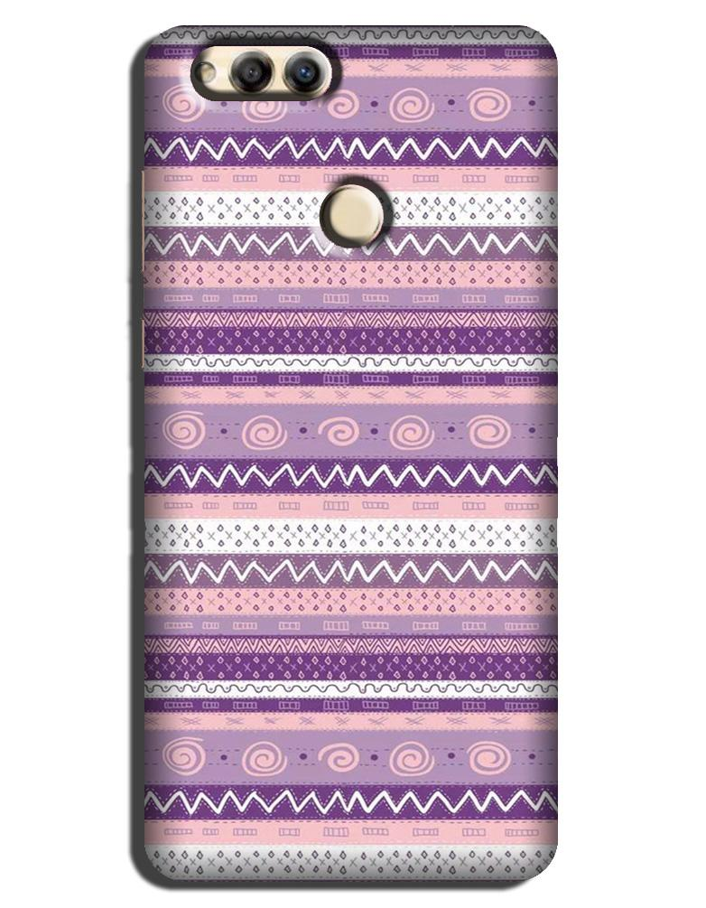 Zigzag line pattern3 Case for Honor 7A