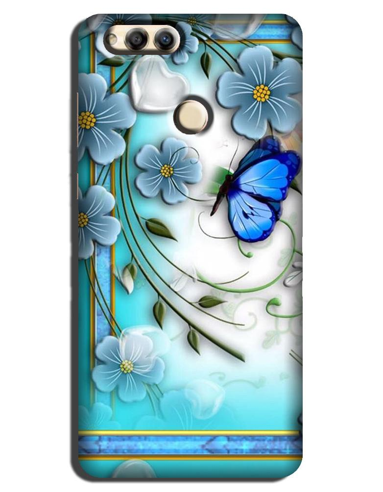 Blue Butterfly  Case for Honor 7X