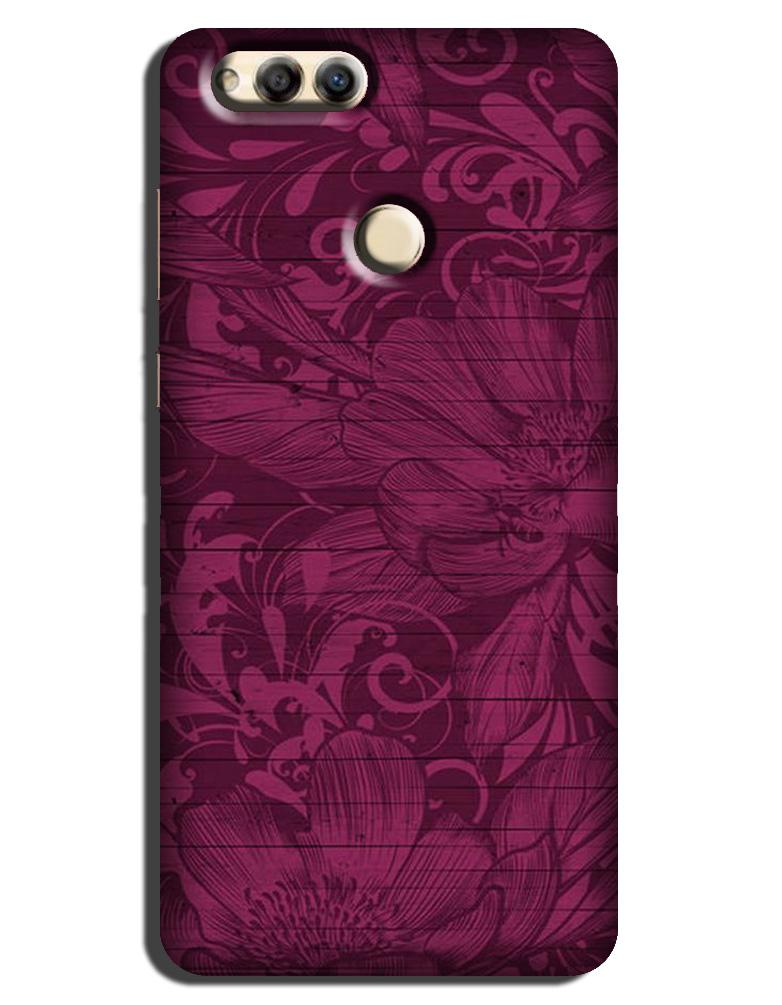 Purple Backround Case for Honor 7X