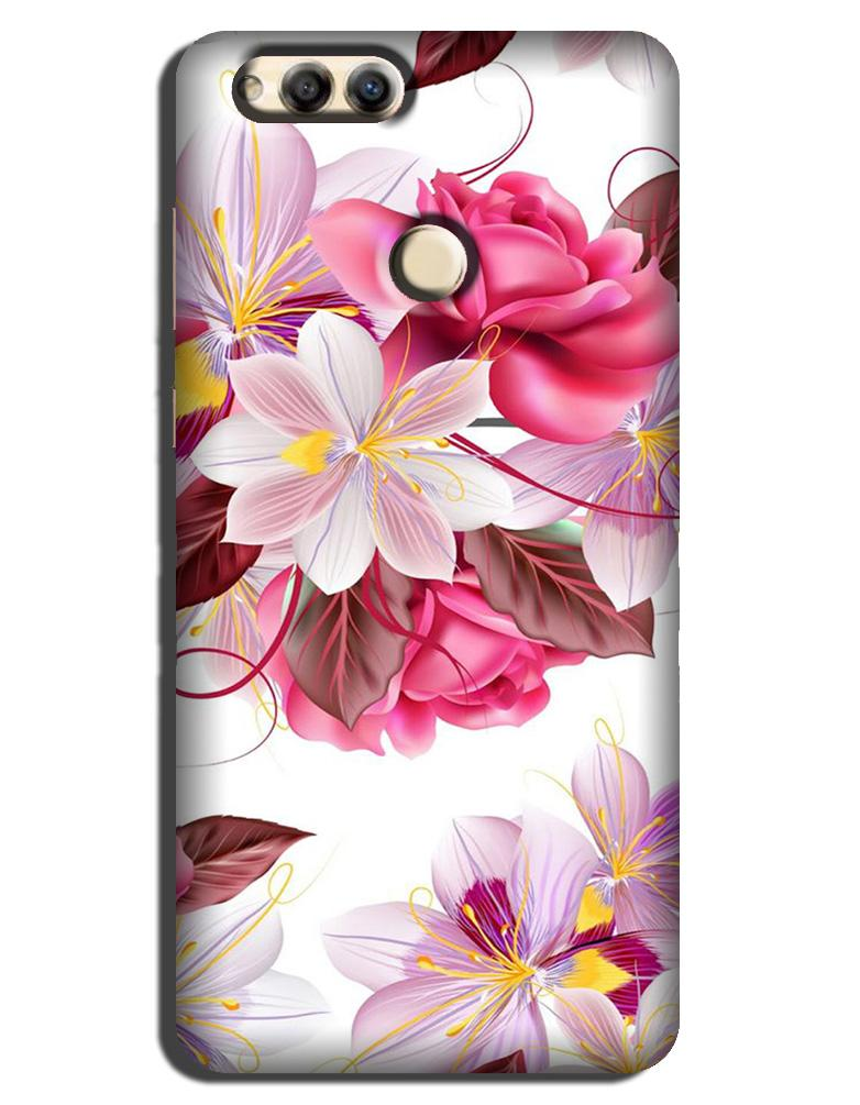 Beautiful flowers Case for Honor 7A